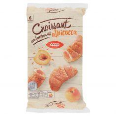 Coop-Croissant con farcitura all'albicocca 6 Pezzi 300 g