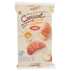 Coop-Croissant con farcitura alla crema pasticcera 6 Pezzi 300 g