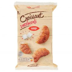 Coop-Croissant zuccherati 6 Pezzi 240 g