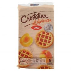 Coop-Crostatina all'albicocca 6 x 40 g