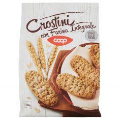 Coop-Crostini con Farina Integrale 280 g