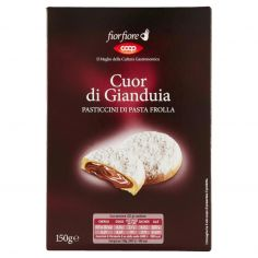 Coop-Cuor di Gianduia Pasticcini di Pasta Frolla 150 g