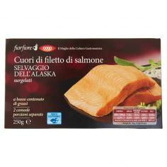 Coop-Cuori di filetto di salmone Selvaggio dell'Alaska surgelati 250 g