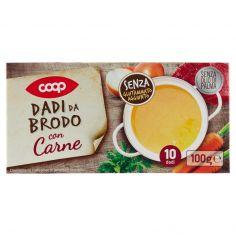 Coop-Dadi da Brodo con Carne 10 dadi 100 g