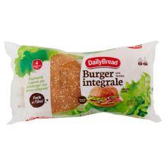 DAILY BREAD-DailyBread Burger con farina integrale Buns with Sesame 4 x 82,5 g