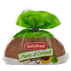 DAILY BREAD-DailyBread Pane 4 Cereali con semi di Lino e semi di Girasole 500 g