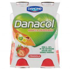 DANACOL-Danacol Fragola 4 x 100 ml