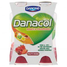 DANACOL-Danacol Frutti Rossi 4 x 100 ml