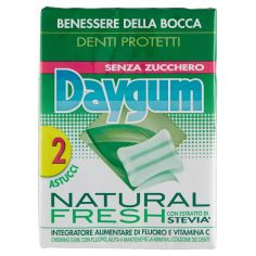 DAYGUM-Daygum Natural Fresh 2 x 29 g