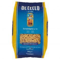 DE CECCO-De Cecco Gramigna n° 31 500 g