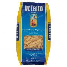 DE CECCO-De Cecco Mezze Penne Rigate n° 141 500 g