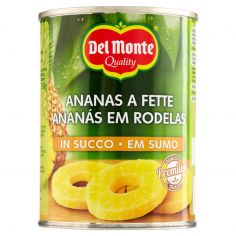 DEL MONTE-Del Monte Ananas a Fette in Succo 565 g