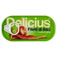 DELICIUS-Delicius Filetti di Alici in olio di oliva 46 g