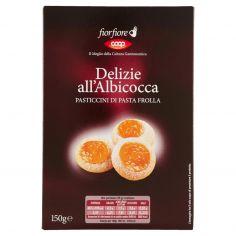 Coop-Delizie all'Albicocca Pasticcini di Pasta Frolla 150 g