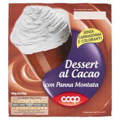 Coop-Dessert al Cacao con Panna Montata 4 x 100 g