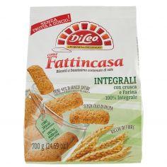 FATTI IN CASA-Di Leo Fattincasa Integrali con crusca e Farina 100% Integrale 700 g