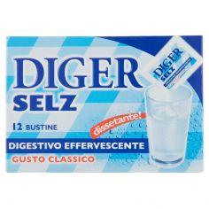 DIGER SELZ-DIGER SELZ, Digestivo effervescente Gusto Classico 42 g x 12