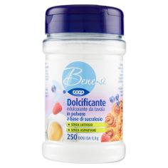 Coop-Dolcificante edulcorante da tavola in polvere a base di sucralosio 200 g