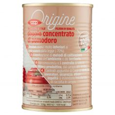 Coop-doppio concentrato di pomodoro 440 g