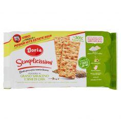 DORIA-Doria Semplicissimi Crackers al Grano Saraceno e Semi di Chia 245 g