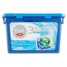 Coop-Dosi Lavatrice 3 Azioni Fresh 16 x 24,5 ml