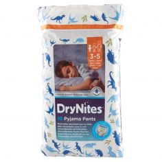 DRY NITES-DryNites 10 Pyjama pants 3-5 anni maschio