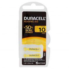 Duracell Hearing Aid 10 PR70 1.45 V Zinc Air 6 pz