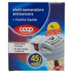 Coop-elettroemanatore antizanzara + ricarica liquida 35 ml