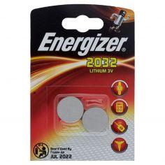 Energizer 2032 lithium 3V 2 pezzi