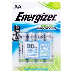 Energizer eco Advanced AA Stilo 4 pz