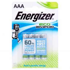 Energizer eco Advanced AAA Mini Stilo 4 pz