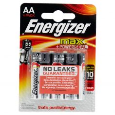 Energizer max AA Stilo 4 pz