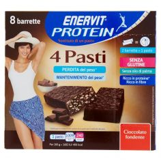 ENERVIT-Enervit Protein 4 Pasti Cioccolato fondente 8 x 30 g