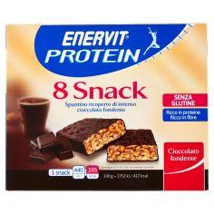 ENERVIT-Enervit Protein 8 Snack Cioccolato fondente 8 x 25 g