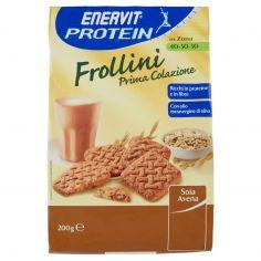 ENERVIT-Enervit Protein in Zona 40-30-30 Frollini prima colazione soia avena 200 g