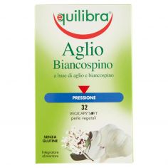 EQUILIBRA-equilibra Aglio e Biancospino 32 perle vegetali 38,6 g