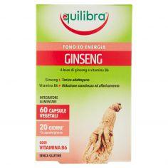 EQUILIBRA-equilibra Ginseng 60 Capsule Vegetali 19,2 g