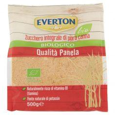 EVERTON-Everton bio Zucchero integrale di pura canna Biologico Qialità Panela 500 g