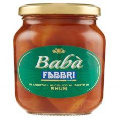 FABBRI-Fabbri Babà in Cocktail Alcolico al Gusto di Rhum 400 g