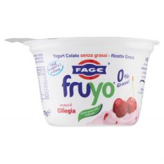 FAGE-Fage Fruyo 0% Grassi con pezzi di Ciliegia 170 g