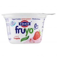 FAGE-Fage fruyo 0% Grassi con pezzi di Fragola 170 g
