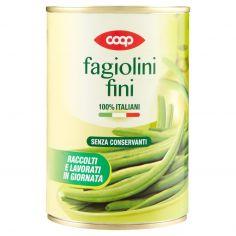Coop-fagiolini fini 400 g