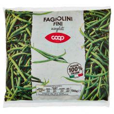 Coop-Fagiolini Fini surgelati 1000 g