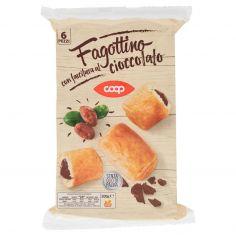 Coop-Fagottino con farcitura al cioccolato 6 Pezzi 300 g
