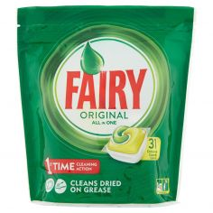 FAIRY-Fairy Original Detersivo in Caps per Lavastoviglie, Confezione da 31 pastiglie, Limone