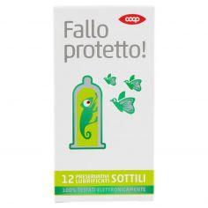 Coop-Fallo protetto! Preservativi Lubrificati Sottili 12 pz