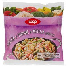 Coop-Fantasia di Verdure in Pastella Surgelate 450 g