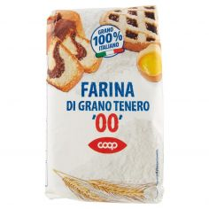 """Coop-Farina di Grano Tenero """"00"""" 1 kg"""