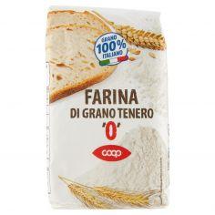 """Coop-Farina di Grano Tenero """"0"""" 1 kg"""