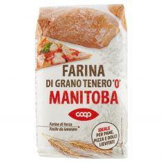 """Coop-Farina di Grano Tenero """"0"""" Manitoba 1 kg"""